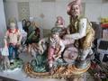 Реставрация больших ваз, статуэток,  скульптур,  сувениров из керамики и композитн.
