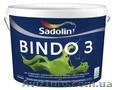 Краска для стен BINDO 3 10л/1050грн-латексная краска для внутренних работ.Нестек, Объявление #1098205