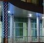 Новогоднее оформление магазинов,  световая иллюминация. Монтаж световых гирлянд.