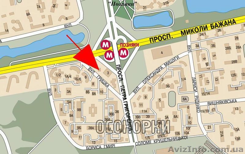 """Трехкомнатная квартира возле м.""""Позняки"""" в Киев, Объявление #1177883"""