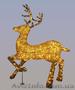 Олень новогодний светящиеся, купить светодиодное дерево - Изображение #2, Объявление #1169949