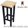 Барные стулья деревянные, Барный табурет Квадрат  - Изображение #3, Объявление #1212780
