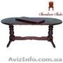 Деревянный стол раздвижной, Стол Аврора, Объявление #1212868