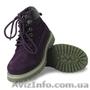 Замшевые ботинки для девочек. BEPPI(Португалия). Яркий дизайн.