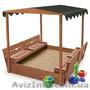 Песочница детская для сада pes-4