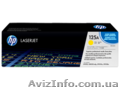 Тонерний катридж HP LaserJet 125A CB542A - Изображение #2, Объявление #1268918