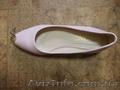 Нові жіночі туфлі рожевого кольору,  шкіряні