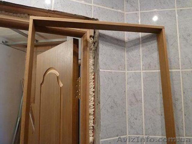 Установка межкомнатной двери с добором своими руками