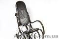 """Кресло Качалка """"PBT Group"""" черное,кожаное  - Изображение #2, Объявление #1305377"""