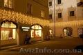 Световые гирлянды, уличная гирлянда бахрома, декоративное освещение дома