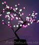 Светодиодные декоративные деревья, новогодние подарки оптом