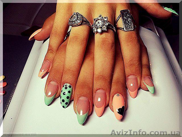 Нарощенные ногти 1.5 размер