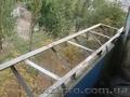 Выносные балконы,  Вынос балкона по полу,  Вынос балкона по парапету