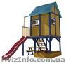 """Детская площадка - домик с горкой """""""" - Изображение #2, Объявление #1422341"""