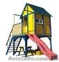 """Детская площадка - домик с горкой """""""", Объявление #1422341"""