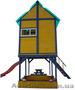 """Детская площадка - домик с горкой """""""" - Изображение #3, Объявление #1422341"""