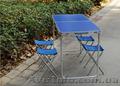 Набор туристической мебели раскладной FTS1-4,  стол и 4 стульчика