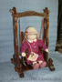 качели для куклы