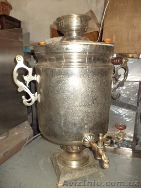 Самовар и нагреватель для чая, б у в рабочем состоянии., Объявление #1459433