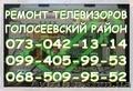 Ремонт телевизоров Голосеевский район. Киев, Объявление #1465489