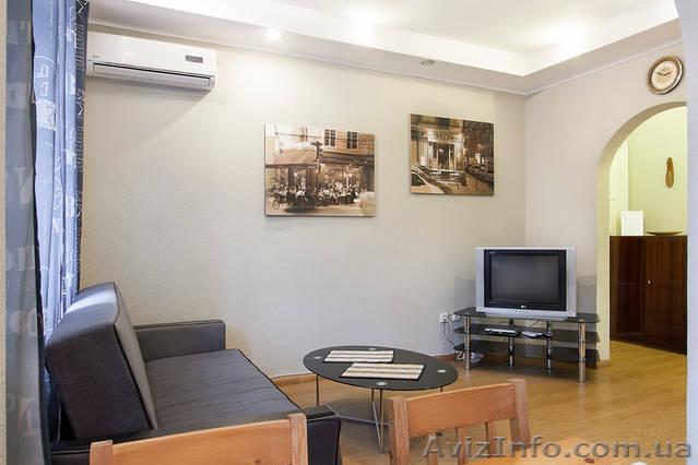 Аренда 2-ой квартиры бизнес класса посуточно г.Киев, Объявление #1343887