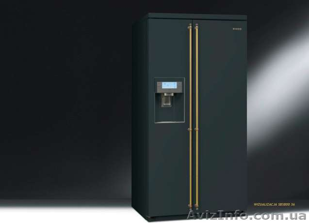 Холодильник SMEG SBS 800A.Доставка по Украине.Распродажа.Спешите, Объявление #1517971