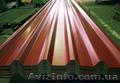 Металлический лист гнилая вишня,  профнастил 0, 48 и металлочерепица 3005. Произво