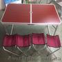 Комплект мебели для пикника WELFULL-FTS1-4,  раскладной столик +4 стула
