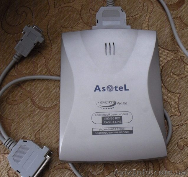 Голосовой факс-модем внешний Asotel GVC R21 Vektor., Объявление #1432923