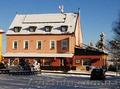 Чехия. Горный отель и ресторан рядом с Теплице