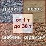 Сыпучие строительные материалы (г. Мариуполь): шлак,  керамзит,  песок,  граншлак