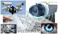 Продажа оборудования и монтаж систем видеонаблюдения Hikvision,  Dahua.