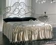 Кровати кованые собственного произвадства