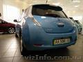 Nissan Leaf SV голубого цвета - Изображение #4, Объявление #1587552