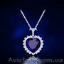 Сердце океана Титаник Swarovski Ожерелье серьги подарок поздравлением