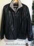 Куртка зимняя кож.зам с теплой меховой подкладкой. Одевалась пару раз. - Изображение #2, Объявление #1595301