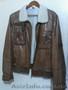 Куртка короткая, кожа, натуральных мех. Размер 48, Объявление #1595303