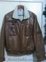 Куртка короткая, кожа, натуральных мех. Размер 48 - Изображение #2, Объявление #1595303