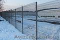 Забор из сетки для дачи. Сварное ограждение секционного типа «РУБЕЖ» 3D - Изображение #3, Объявление #1604140