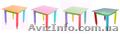Детский столик без пенала 60см на 40см Карандаши - Изображение #5, Объявление #1604346