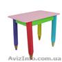 Детский столик без пенала 60см на 40см Карандаши - Изображение #6, Объявление #1604346