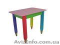 Детский столик без пенала 60см на 40см Карандаши - Изображение #3, Объявление #1604346