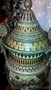Большая ваза с крышкой.1м.14см.Гончарная работа(глина).Ручная роспись., Объявление #1604905