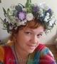 Венок на голову из живых цветов в Киеве., Объявление #1619899