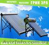 Солнечная гелиосистема (на основе вакуумного коллектора)