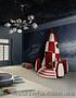 Итальянская мебель для детских комнат: кроватки,  кровати,  пеленальные столики
