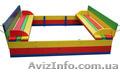 Детский комплект - 1 песочница с крышкой и столик с лавочками - Изображение #3, Объявление #1629657