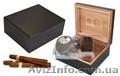 Хьюмидоры кедровые с набором: пепельница, гильотина, футляр для сигар, Объявление #1631249