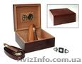 Хьюмидоры кедровые с набором: пепельница, гильотина, футляр для сигар - Изображение #3, Объявление #1631249
