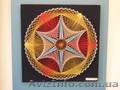 Никтографика ниточный дизайн искусство картины хобби народное творчест - Изображение #4, Объявление #1593412